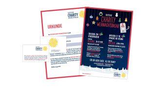 Logoentwicklung  Deutscher Charity Weihnachtsbasar