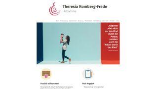 Theresia Romberg-Frede, Hebamme >